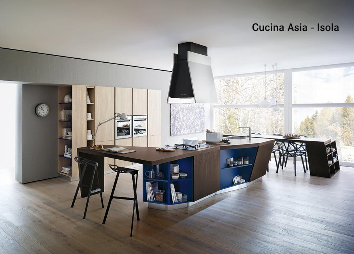 Cucina E Salone Unico Ambiente : Cucina salone open space classico