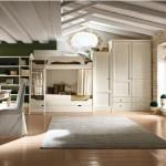 Camerette a castello bianche, marca callesella, legno buono
