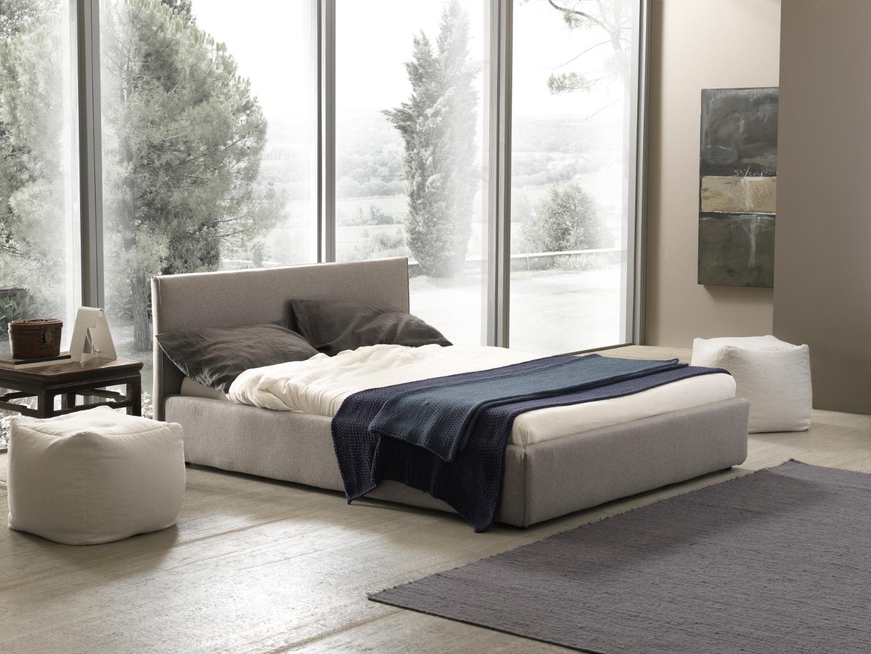 Foto di letti bolzan bianco e grigio in stanza solare letto moderno - Acari nel letto ...