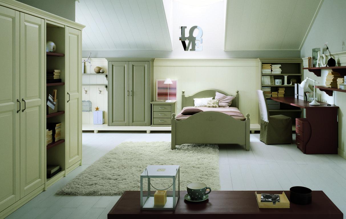 Camerette - Camera da letto singola moderna ...