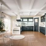 Panoramica cucina classica Canova