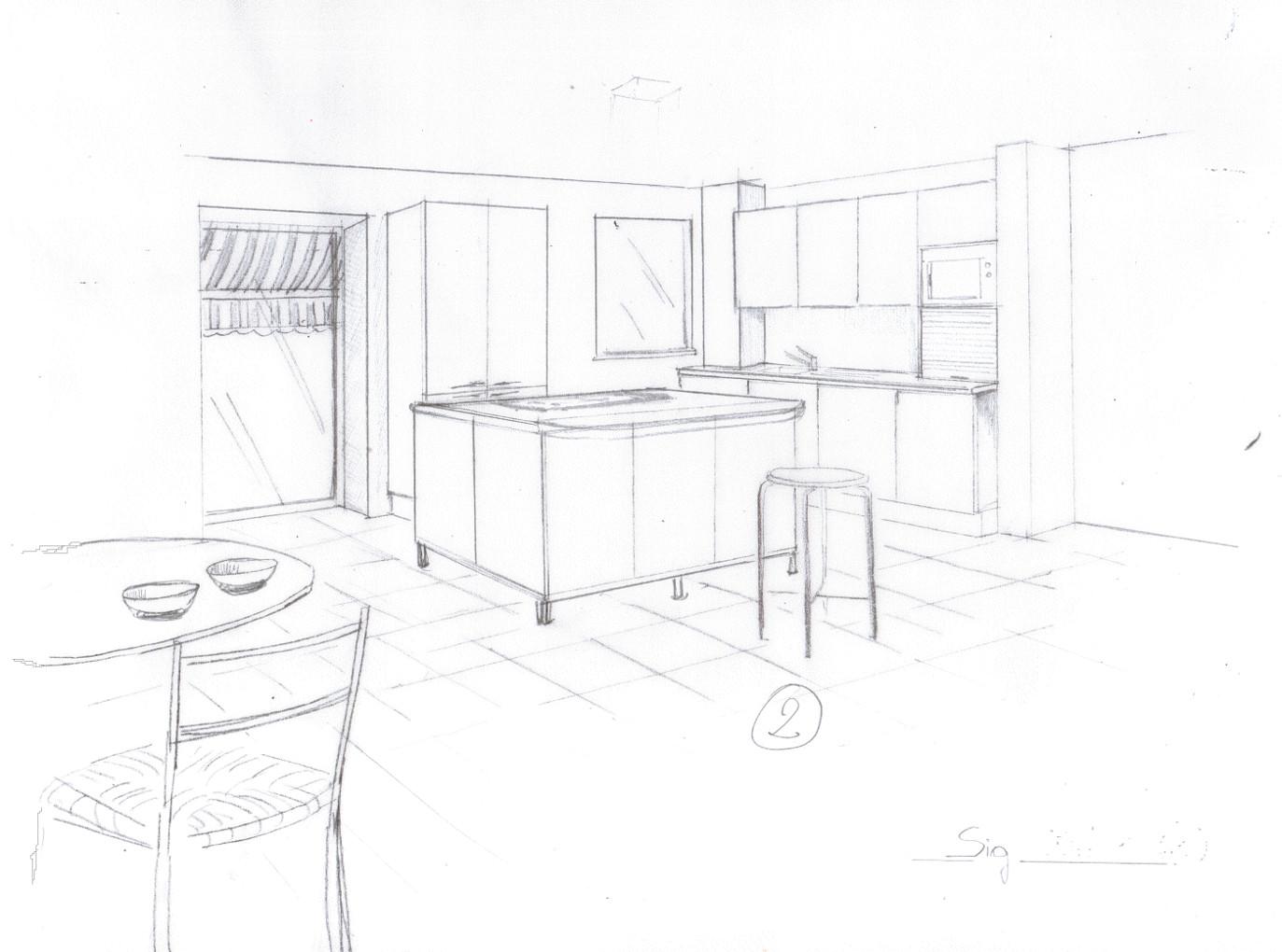 Cucina stilizzata for Mobili stilizzati