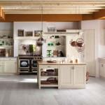 Cucina stile country Tempora, bianca