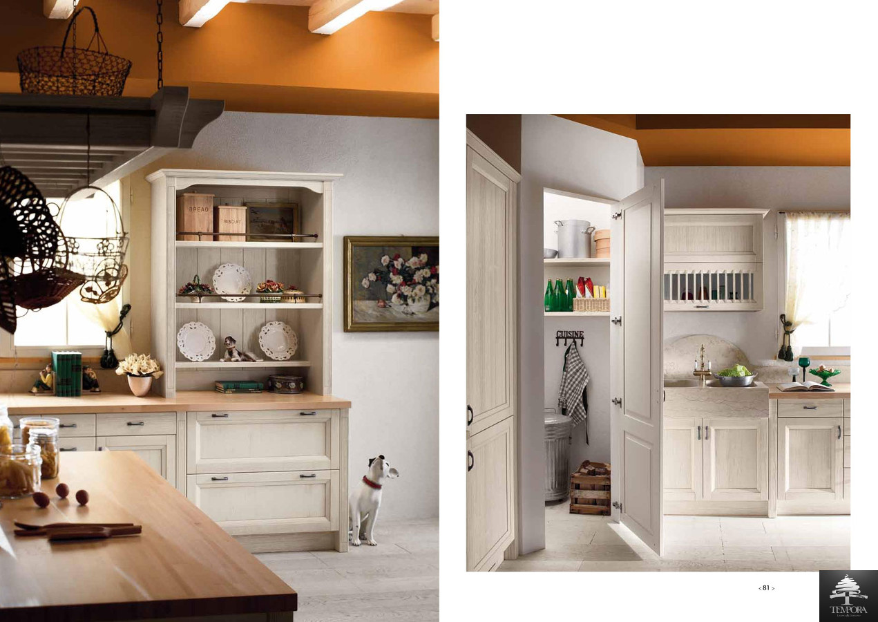 Cucine country - Dispensa in cucina ...