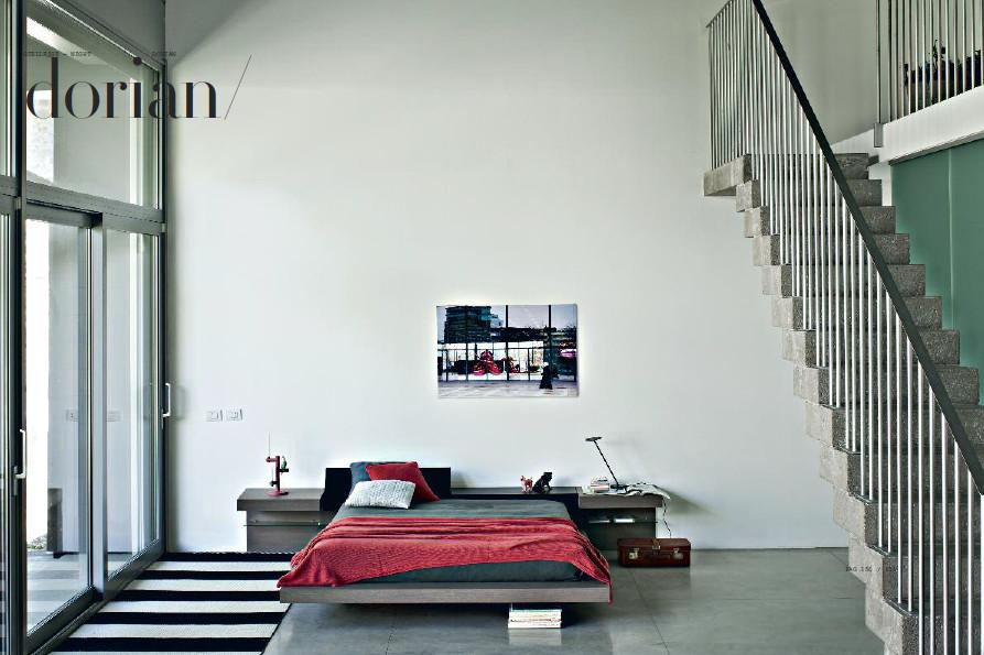 Camera da letto con letti giellesse dorian in legno for Arredamenti trieste