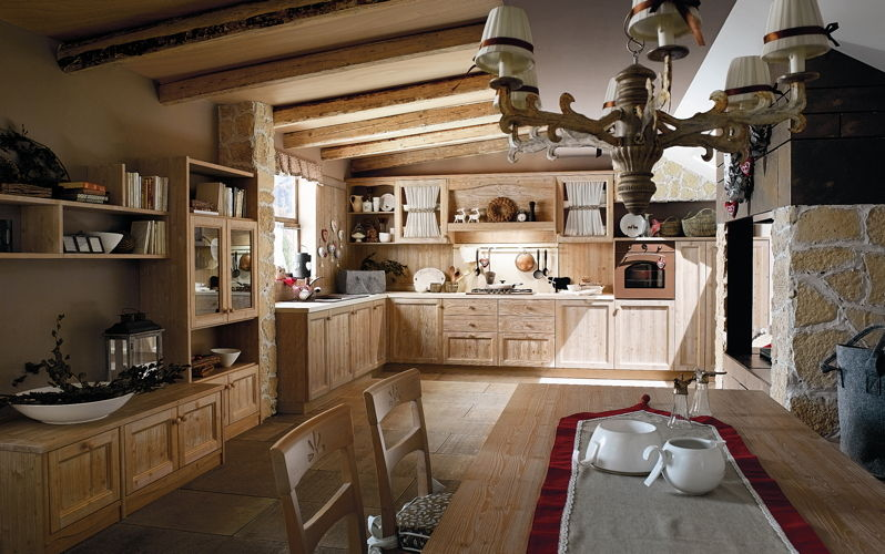 Cucine for Cucine stile country