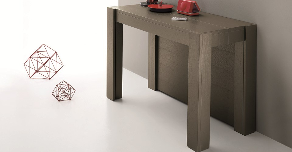 Multifunction tables - Table console extensible 5 rallonges ...