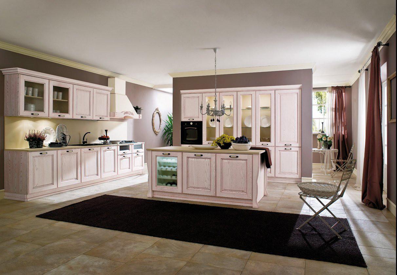 Panoramica Cucina Classica Laguna #614B3C 1212 840 Mobili X Cucine Piccole