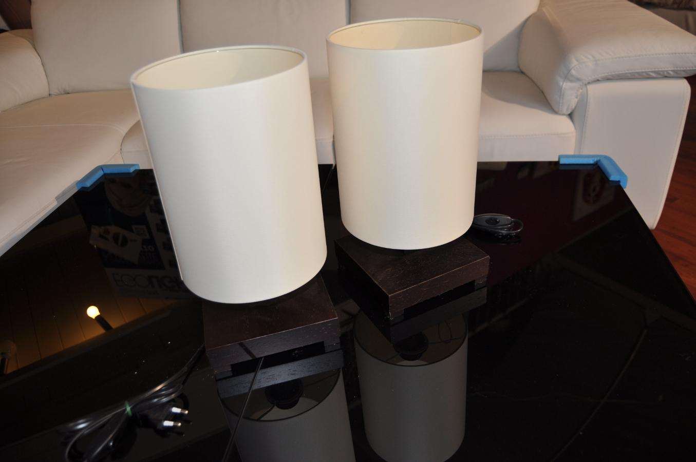 Coppia lampade da tavolo - Arredamenti Sartori Trieste
