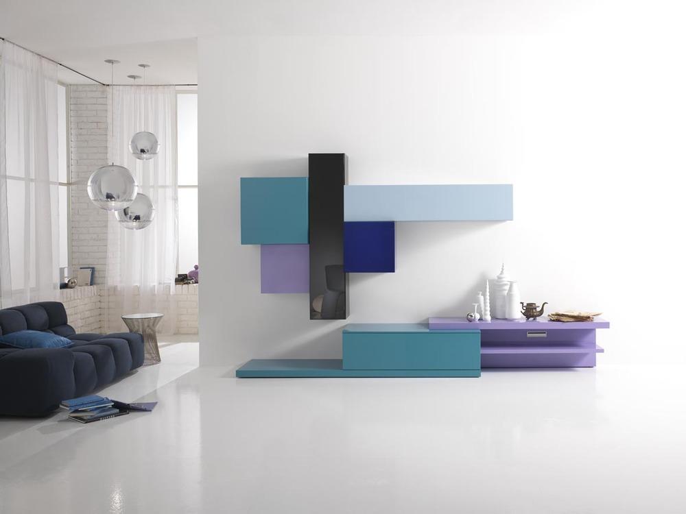 divani componibili moderni colorati