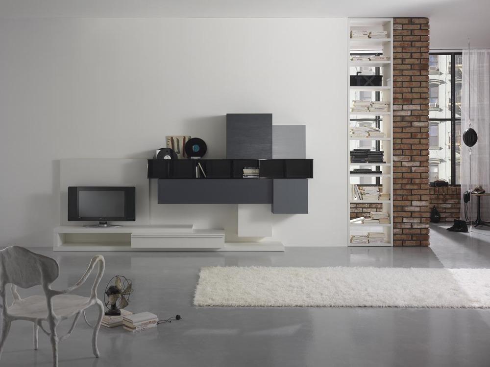 Soggiorni moderni for Immagini living moderni