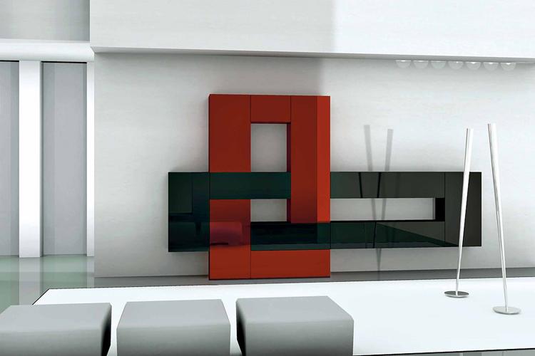 Soggiorni Moderni Con Pareti Colorate ~ Idee per il design della casa