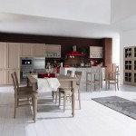 Cucine country Tortora colore marrone