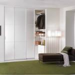 Cabina armadio con porta trasparente