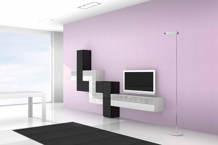Soggiorni moderni - Muebles de salon de diseno minimalista ...