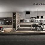 Panoramica della cucina Asia