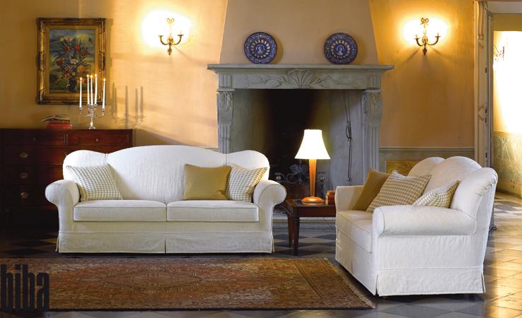 divani grancasa : Divani classici biba salotti, colore bianco su sfondo casa antica e ...