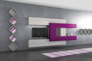 Variable geometry living rooms pescarollo